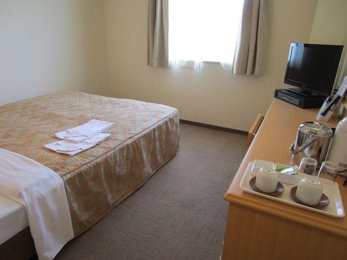 シングル中心の部屋はコンパクトで落ち着ける空間