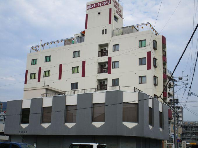 JR赤間駅から20メートル。福岡市にも北九州市にも便利な立地