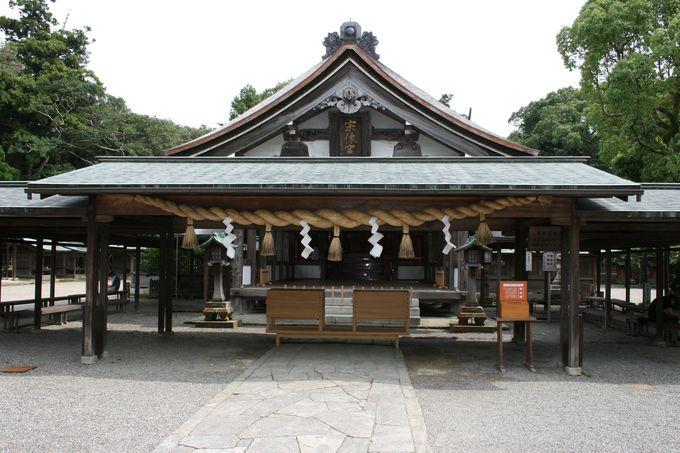 「宗像・沖ノ島関連遺産群」の世界遺産登録で注目を集める宗像大社