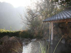雄大なひびき渓谷が眼前に!日田市「豊後・大山ひびきの郷 お宿 あさもや」|大分県|トラベルjp<たびねす>