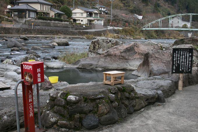 到着した瞬間からワクワクの専用吊り橋がある「天ケ瀬観光ホテル成天閣」