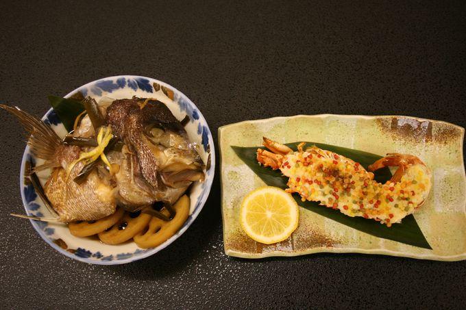 海の幸、山の幸に雲仙の郷土料理も!質・量ともに満足の夕食