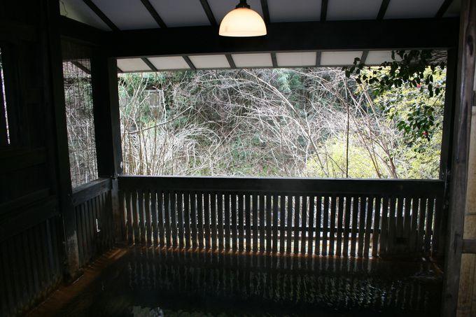 「旅館湯本荘」のお湯は希少価値のある含鉄泉の温泉