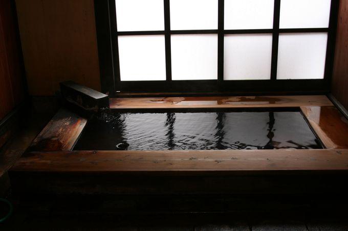 24時間、予約なしでいつでも入れる3つの貸切風呂