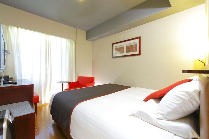 全室フローリングでタイプが豊富な選べる客室が魅力