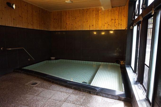 「光泉」は石鹸の様なヌルヌル感のある美肌の湯!
