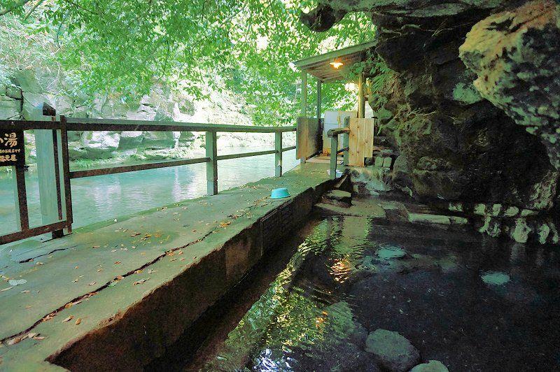 「壁湯温泉 旅館福元屋」で、洞窟から湧き出す神秘の温泉を堪能しよう!
