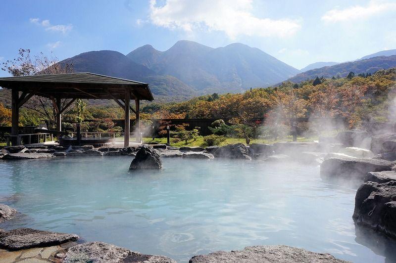 「九重星生ホテル 山恵の湯」で、くじゅう連山を臨みながら、四つの源泉を堪能しよう!