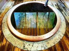 小田急ロマンスカーの広告で見た!「福住楼」のあの丸風呂に入ってみたい!箱根塔之沢温泉|神奈川県|トラベルjp<たびねす>