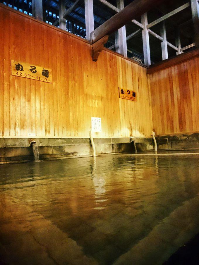 実は色んなタイプのお風呂が楽しめる武雄温泉