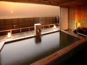 夕日の美しい宿No.1!新潟・瀬波温泉「夕映えの宿 汐美荘」で美肌になる!|新潟県|トラベルjp<たびねす>