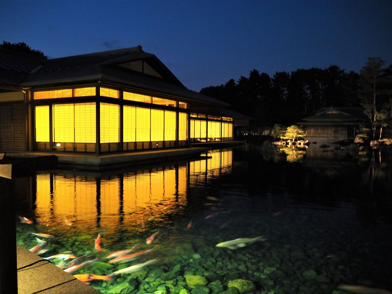 初の夜間延長公開も!京都迎賓館で国賓の気分にひたってみる!!