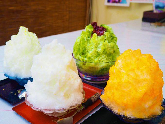 和歌山県新宮市「仲 氷店」の気になるメニューや値段は?