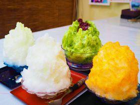 かき氷ランキング西日本9位!和歌山県最強かき氷店「仲 氷店」で絶品かき氷を食す!