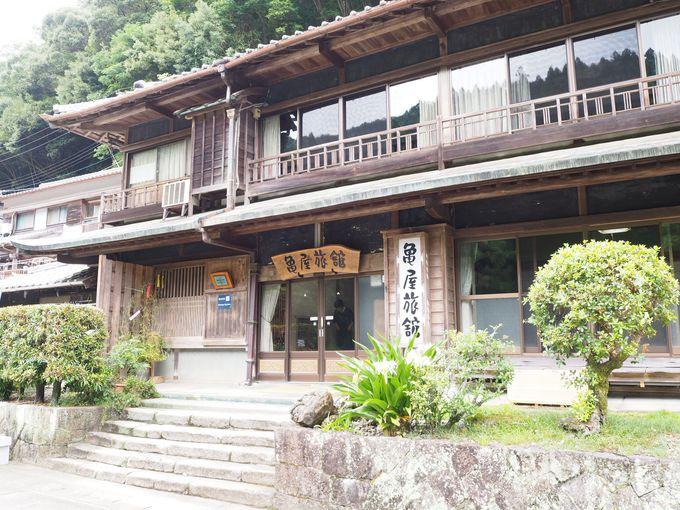 川湯温泉「亀屋旅館」は江戸時代創業の老舗旅館