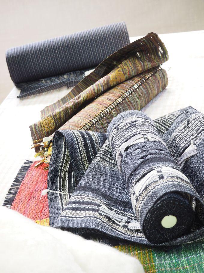 機織りで織る、ということを知る