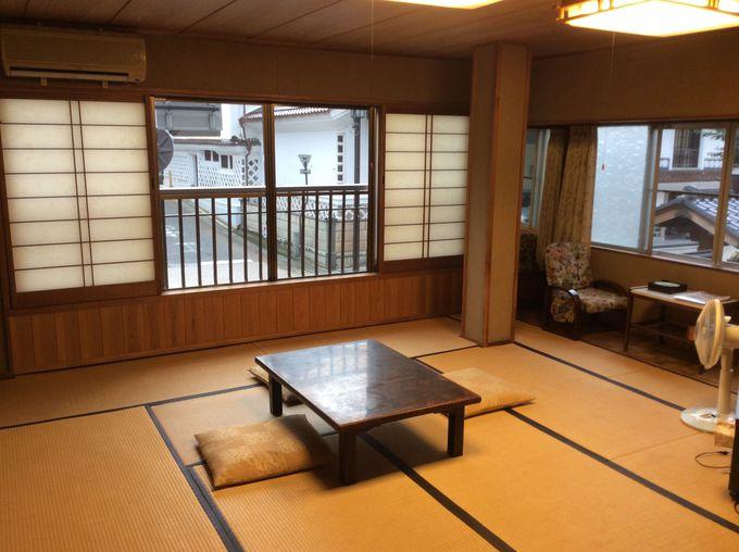 「飯坂温泉 ほりえや旅館」はどれもゆったり広ーく快適な客室