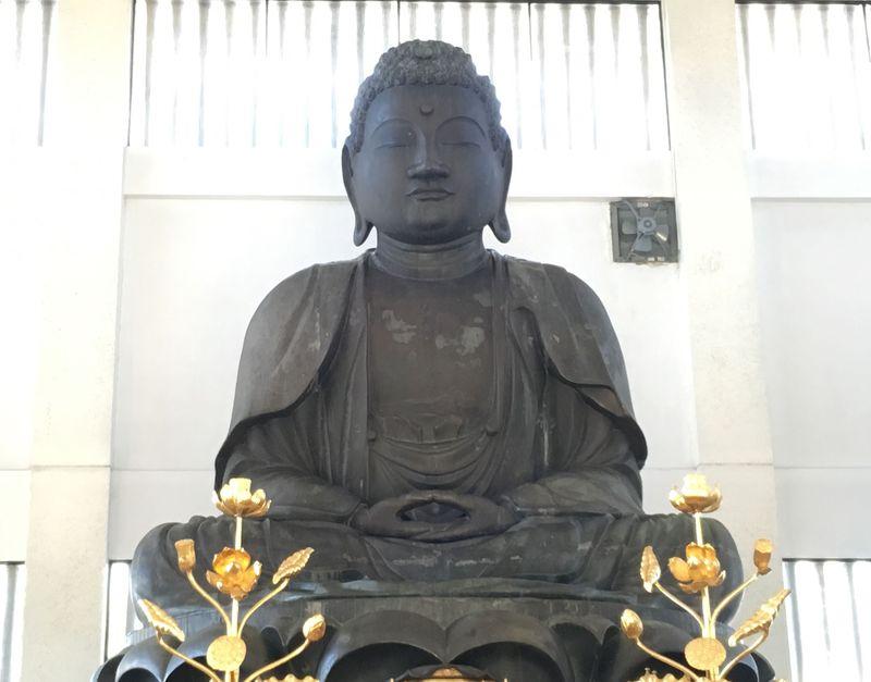 岐阜・羽島の愛され仏「佐吉大仏」は触ってよし!入ってよし!?