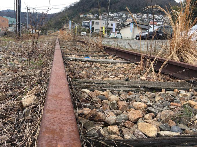 2003年に廃止となった可部線の路線