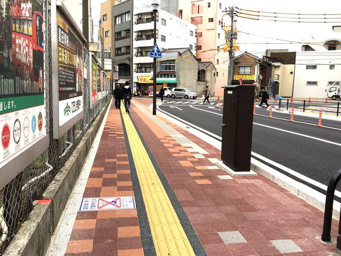 広島駅からスタジアムへ続く「カープロード」