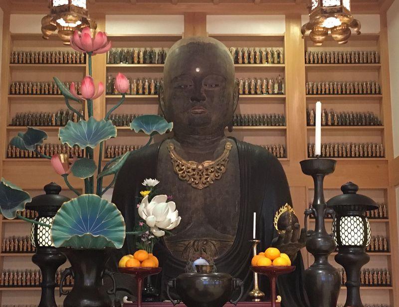 京都の安産祈願寺はココ!伏見区日野「恵福寺」の巨大腹帯地蔵