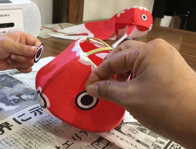 オンリーワン!山口県柳井市「やない西蔵」で金魚ちょうちん作りを体験