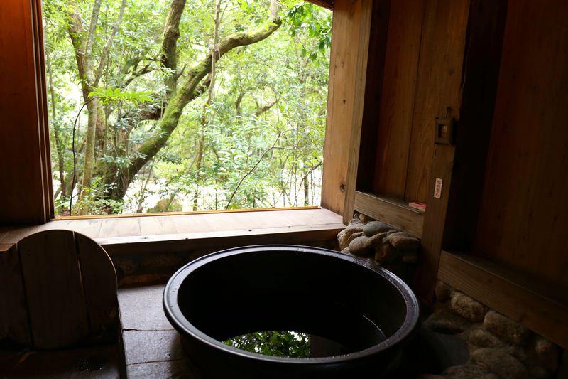 屋久島の大自然を感じられる和のコテージ「仙の家」
