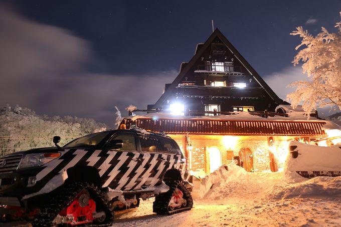 ゲレンデ徒歩0分!「Forest inn.SANGORO」蔵王温泉スキー場を丸っと楽しむ