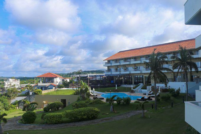 静かな環境に建つアクセス良しなホテル