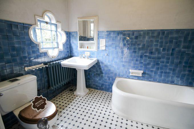 すべてデザインの違う浴室