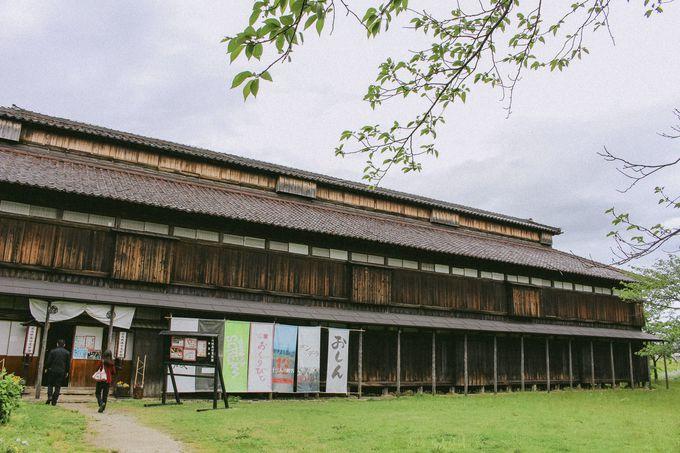 資料館が入るのは鶴岡の歴史を伝える建物