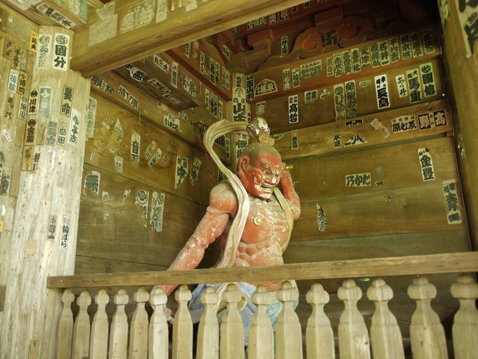 山門の仁王像は運慶作