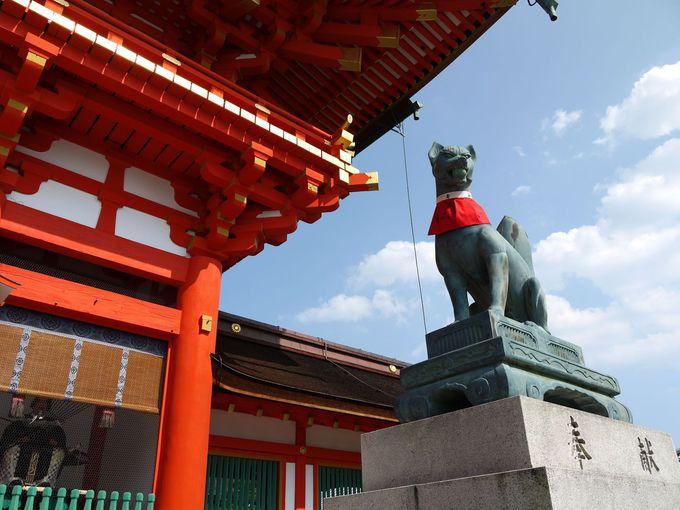 全国約3万社ある稲荷神社の総本宮!
