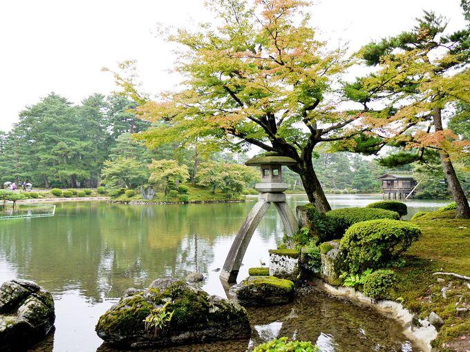 日本三名園の1つ「兼六園」