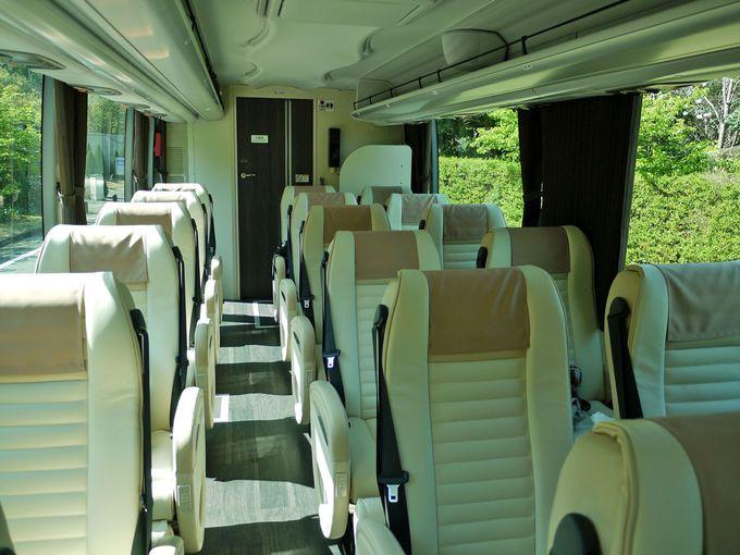 はとバス最上級バス「ピアニシモIII」、その中身は?