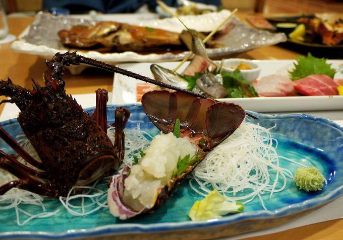 海の幸・山の幸を思う存分堪能できるお食事