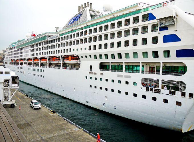 船の入港&出港に合わせて出かけてみよう