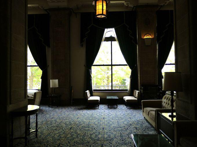 ロケでも多数使用される本館2階