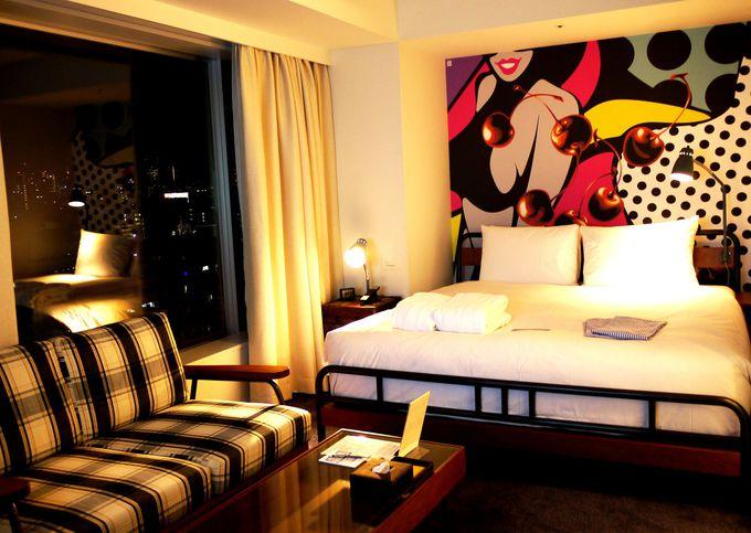 全客室がおしゃれなデザイナーズホテル「新宿グランベルホテル」