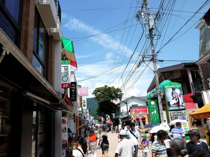 旧軽井沢銀座をゆっくり散策