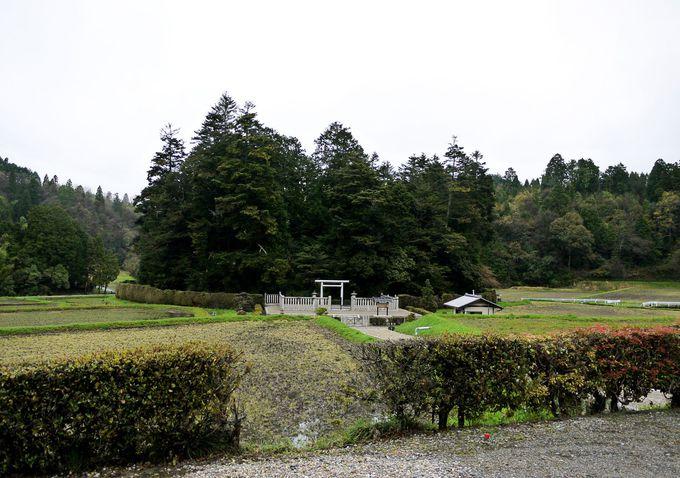 光仁天皇陵と日笠フシンダ遺跡