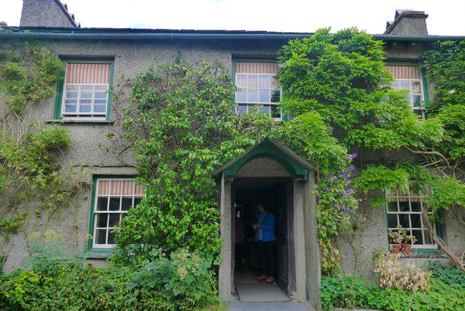 100年前の作者の家がそのまま残っている!