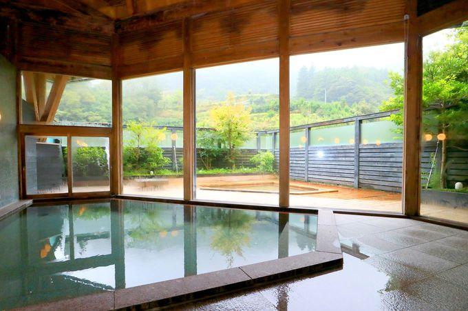 山奥の秘湯なのに洗練されたデザイン温泉というギャップに浸る