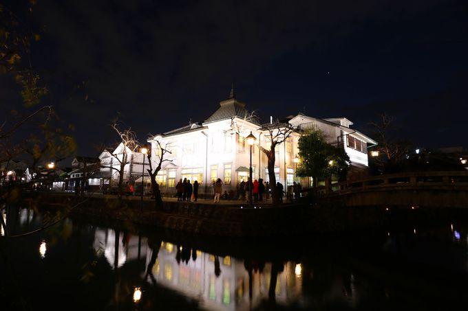 夜の散策が楽しくなる夜間景観照明