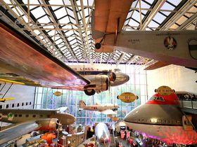 飛行機がいっぱい!ワシントンDC「航空宇宙博物館」は無料で楽しめる素敵なミュージアム|アメリカ|トラベルjp<たびねす>