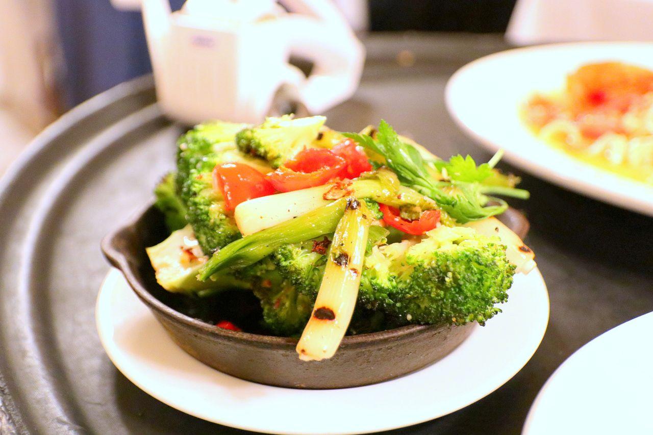 野菜たっぷり!ヘルシーなサイドメニュー
