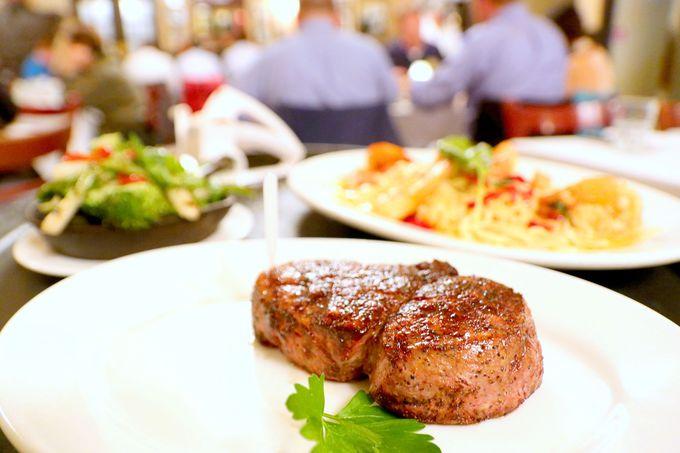 ほどよい高級感の中で頂く絶品ステーキ&イタリアン!