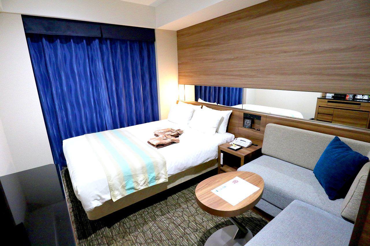 沖縄「アルモントホテル那覇県庁前」は大浴場もあって快適度高め!