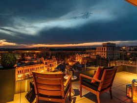モダン&ラグジュアリーで四つ星 ワシントンDC「ザ・デュポン・サークル・ホテル」