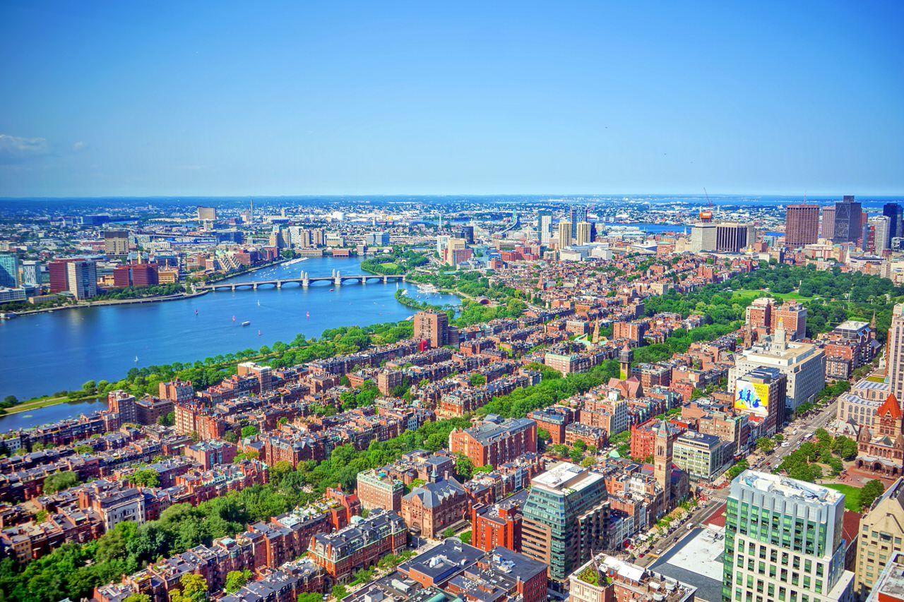 ボストンの街並みを360度楽しめる「スカイウォーク展望台」